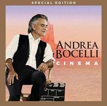 Andrea Bocelli: Cinema (Special Edition), 1 CD und 1 DVD