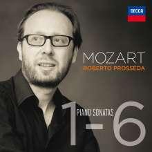 Wolfgang Amadeus Mozart (1756-1791): Klaviersonaten Nr.1-6, 2 CDs