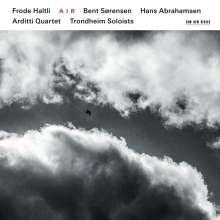 "Bent Sörensen (geb. 1958): Akkordeonkonzert ""It is pain flowing down slowly on a white wall"", CD"