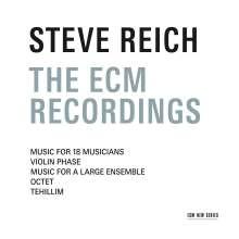 Steve Reich (geb. 1936): The ECM Recordings, 3 CDs