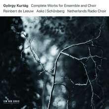 György Kurtag (geb. 1926): Sämtliche Werke für Ensemble & Chor, 3 CDs