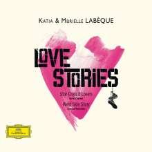 Katia & Marielle Labeque - Love Stories, CD