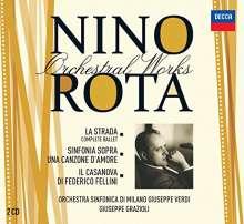 Nino Rota (1911-1979): Orchesterwerke, CD