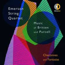 Emerson String Quartet - Music of Britten and Purcell, CD