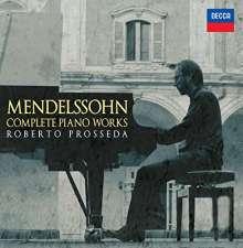 Felix Mendelssohn Bartholdy (1809-1847): Sämtliche Klavierwerke, 10 CDs