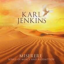 """Karl Jenkins (geb. 1944): Geistliche Chormusik """"Miserere"""", CD"""