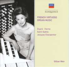 Gillian Weir - French Virtuoso Organ Music, CD