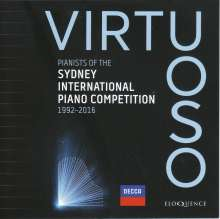 Virtuoso - Pianists of the Sydney International Piano Competition, 11 CDs