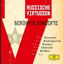 Russische Virtuosen - Berühmte Konzerte, 6 CDs