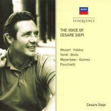 Cesare Siepi  - The Voice of Cesare Siepi, CD