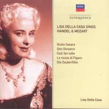 Lisa della Casa sings Händel & Mozart, CD