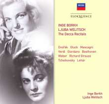 Inge Borkh & Ljuba Welitsch - The Decca Recitals, 2 CDs