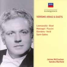 James McCracken & Sandra Warfield - Verismo Arias & Duets, CD