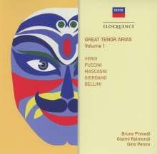 The Great Tenor Arias Vol.1, CD