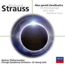 Richard Strauss (1864-1949): Also sprach Zarathustra op.30, CD