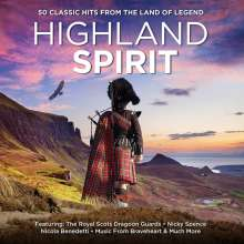 Highland Spirit, 3 CDs
