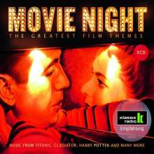 Dave Grusin (geb. 1934): Filmmusik: Movie Night - The Greatest Film Themes, 3 CDs