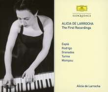 Alicia de Larrocha - The First Recordings, 3 CDs