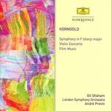Erich Wolfgang Korngold (1897-1957): Symphonie op.40, 2 CDs