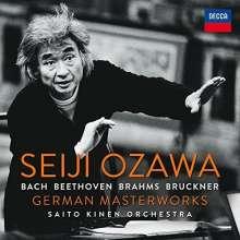 Seiji Ozawa - German Masterworks, 15 CDs