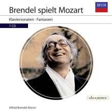 Alfred Brendel spielt Mozart, 7 CDs