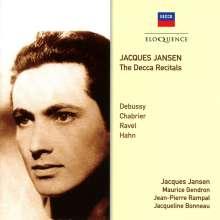 Jacques Jansen - The Decca Recitals, CD