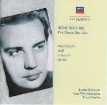 Heinz Rehfuss - The Decca Recitals, CD