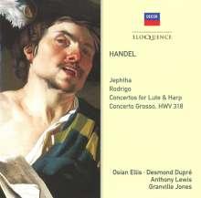 "Georg Friedrich Händel (1685-1759): Concerto grosso HWV 318 C-Dur ""Alexander's Feast"", CD"