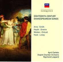 April Cantelo - Eighteenth-Century Shakespearean Songs, CD
