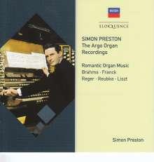 Simon Preston - The Argo Organ Recordings, 2 CDs