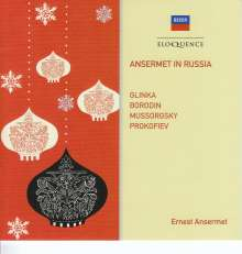 Ansermet in Russia, CD