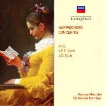 George Malcolm spielt Cembalokonzerte, CD