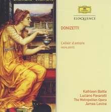 Gaetano Donizetti (1797-1848): L'elisir d'amore (Ausz.), CD