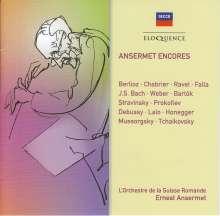 Ernest Ansermet - Encores, CD