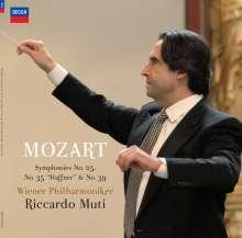 Wolfgang Amadeus Mozart (1756-1791): Symphonien Nr.25,35,39 (180g), 2 LPs