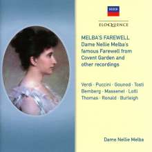 Nellie Melba - Melba's Farewell, CD