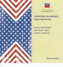 Simon Preston - Variations on America, CD