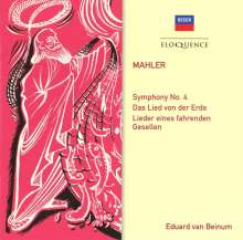 Gustav Mahler (1860-1911): Symphonie Nr.4, 2 CDs