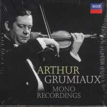 Arthur Grumiaux - Mono Recordings, 14 CDs