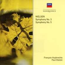 Carl Nielsen (1865-1931): Symphonien Nr.3 & 5, CD