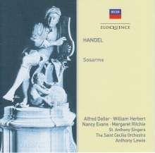 Georg Friedrich Händel (1685-1759): Sosarme, 2 CDs