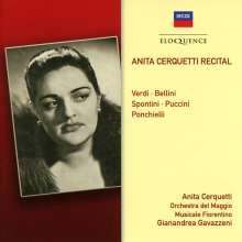 Anita Cerquetti Recital, CD