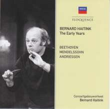 Bernard Haitink - Die frühen Jahre, CD