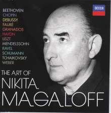 The Art of Nikita Magaloff, 21 CDs