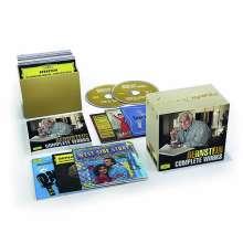 Leonard Bernstein (1918-1990): Sämtliche Werke, 26 CDs und 3 DVDs
