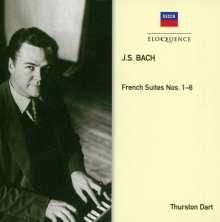 Johann Sebastian Bach (1685-1750): Französische Suiten BWV 812-817, CD