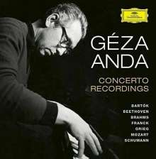 Geza Anda - Concerto Recordings, 12 CDs