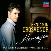 Benjamin Grosvenor - Hommages, CD