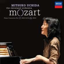 Wolfgang Amadeus Mozart (1756-1791): Klavierkonzerte Nr.17 & 25, CD