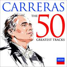 Jose Carreras - The 50 Greatest Tracks, CD
